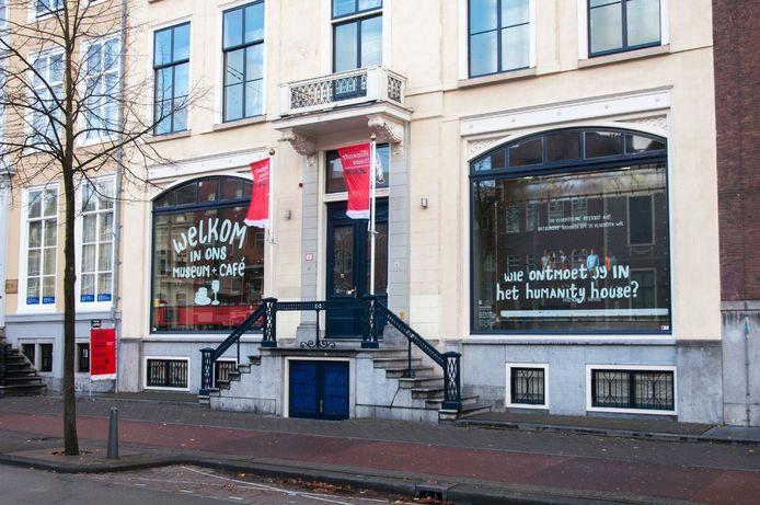 Humanity House aan de Prinsegracht in Den Haag.