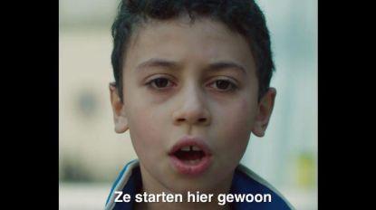 Gentse kinderen lezen racistische boodschappen voor, video gaat viraal