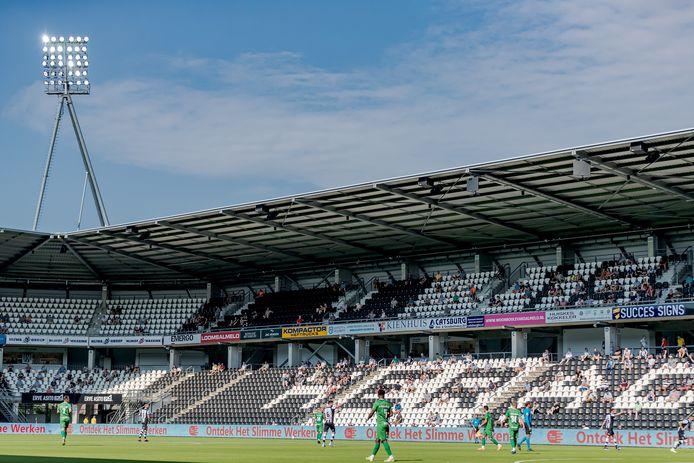 Binnen en buiten het stadion gelden er nog altijd veel maatregelen.