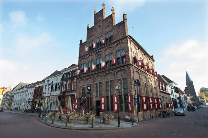 De Oude Waag, een van de monumenten in Doesburg.