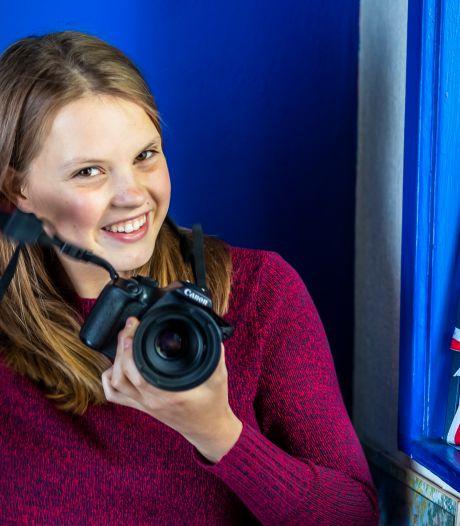 Prijswinnaar Bente Snepvangers (15) staat met haar foto's zelfs op Instagram van de burgemeester