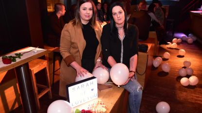 Vrienden zijn Sarah niet vergeten, één jaar na ongeval