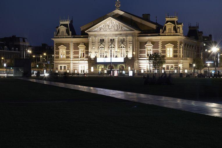 Het Koninklijk Concertgebouw in Amsterdam Beeld anp
