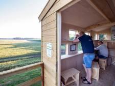 Reeën en vogels spotten vanuit verplaatsbare uitkijkpost van Twenterand: 'Enige in zijn soort'