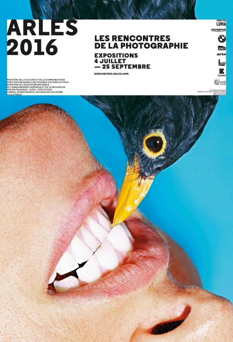 Affiche Arles 2016 Beeld