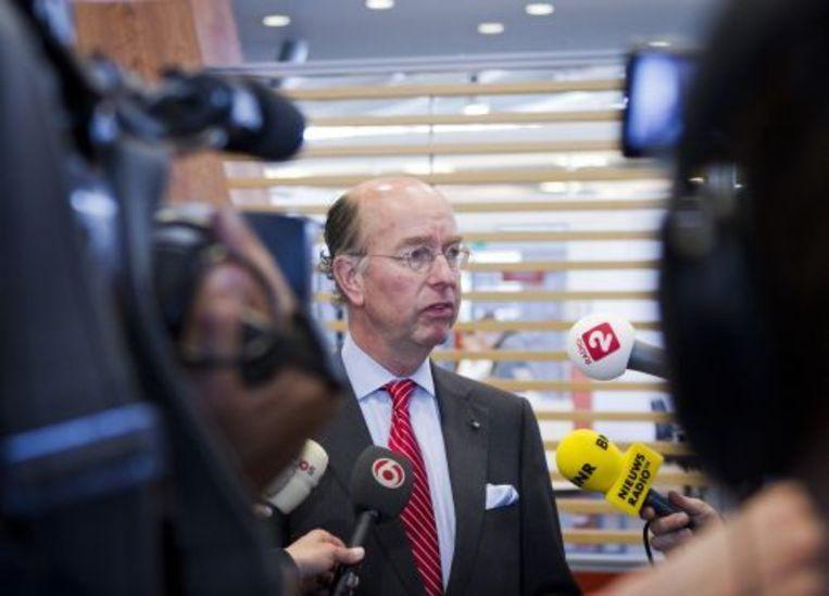 Waarnemend burgemeester Bas Eenhoorn. ANP Beeld
