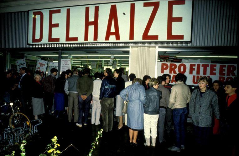 In november 1985 sloeg de Bende van Nijvel voor het laatst toe in de Delhaize van Aalst.