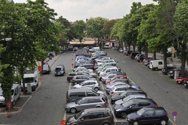 Onder de Grote Markt in Vilvoorde zal in 2016 een parking worden aangelegd.