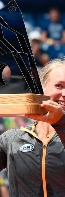 Emotionele Kiki Bertens wint vierde WTA-titel in Gstaad