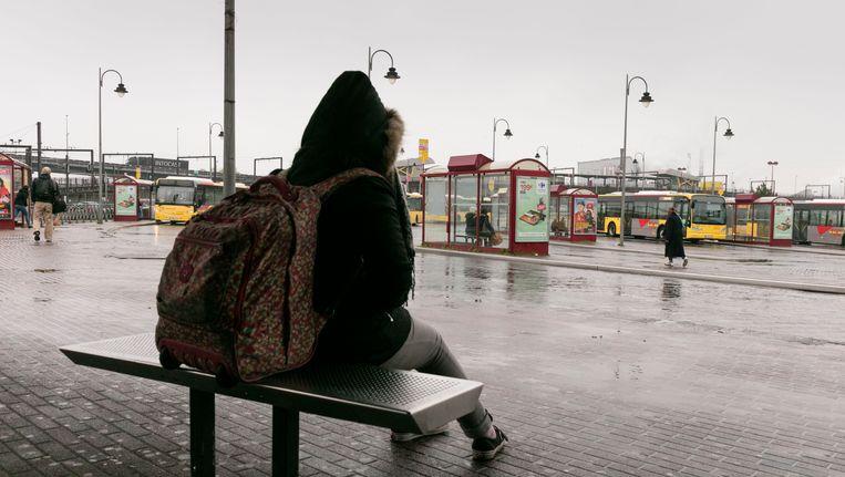 Eind april werd het Waalse openbaar vervoer ook al verstoord door vakbondsacties, zoals hier in Charleroi. (Archieffoto)