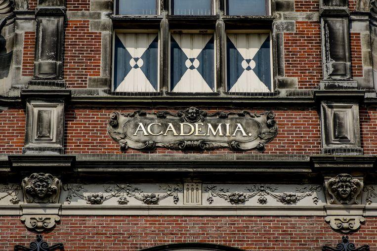 Academiegebouw Rijksuniversiteit Groningen. Beeld anp