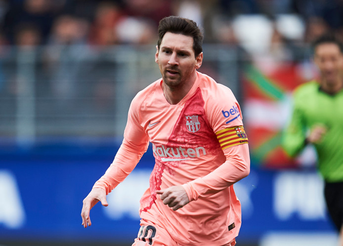 Lionel Messi is de grootverdiener in de internationale sportwereld.