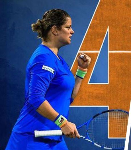 Le World Team Tennis est lancé, Kim Clijsters en action ce lundi