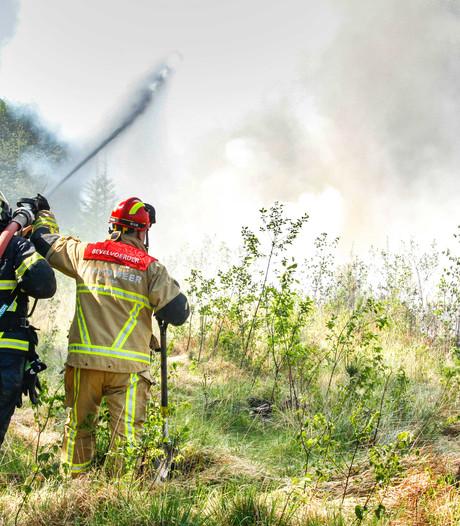 Gevaar van natuurbrand neemt toe
