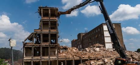 Schade aan woningen door sloop Lichtenberg