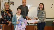 Ona Gijbels wint tekenwedstrijd Pop-up Europa