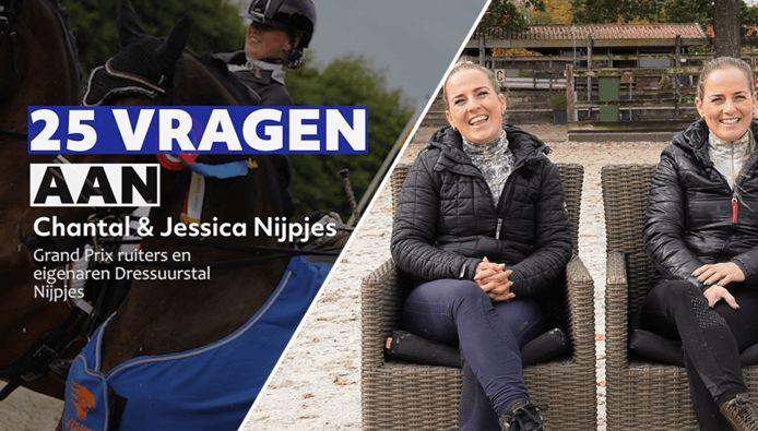 De zussen Chantal en Jessica Nijpjes.