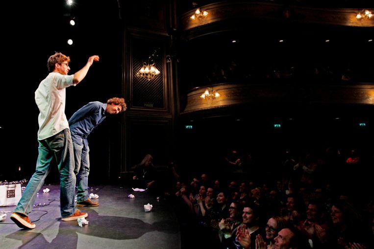 Aan het Leids Cabaret Festival namen dit jaar drie duo's deel.