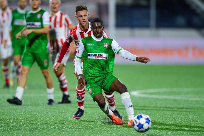 Matthew Bondswell komt niet langer voor FC Dordrecht uit.