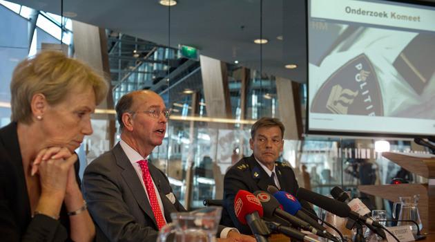 Vandaag werden de onderzoeksresultaten naar de dodelijke schietpartij in april in Alphen aan den Rijn bekend gemaakt. FOTO ANP