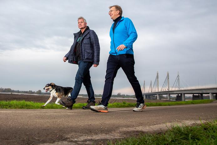 Gert Verberk (links) en Peter den Biesen.