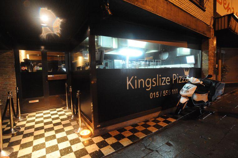 De jongeman werkte voor Kingslize Pizza in Aalst.
