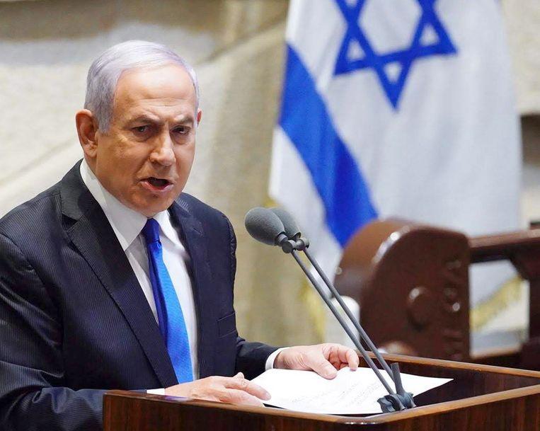 Benjamin Netanyahu Beeld EPA