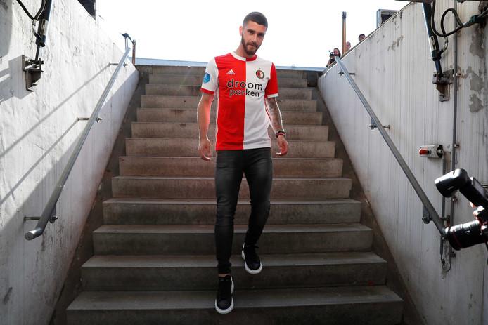 Marcos Senesi in het shirt van Feyenoord.