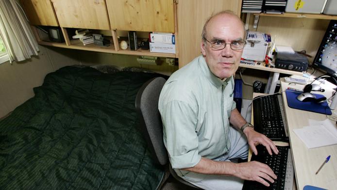 Oud-voorzitter Ad van den Berg.