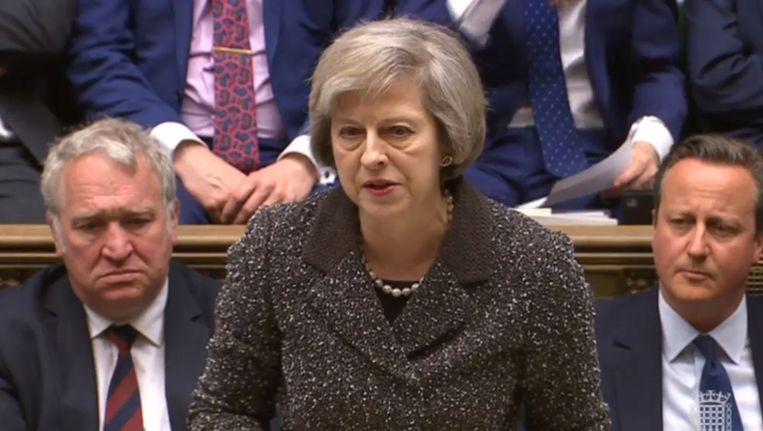Brits minister van Binnenlandse Zaken Theresa May.