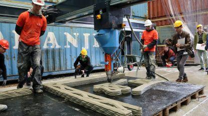 VIDEO. Grootste 3D-betonprinter van de wereld staat in Westerlo
