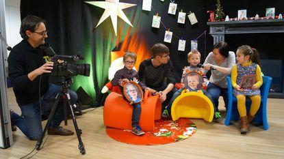 Kinderen laten nieuwjaarswensen inblikken voor Tieltse zieken en bejaarden