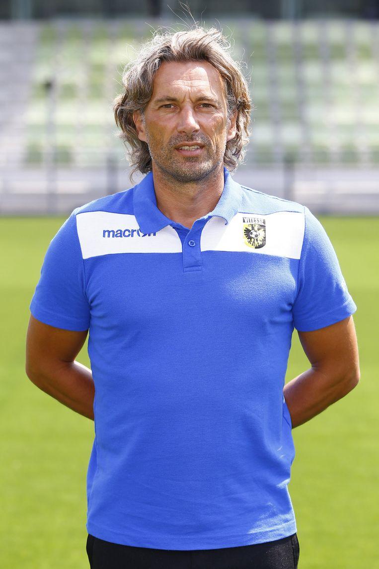 Assistent-trainer Rob Maas. Beeld anp