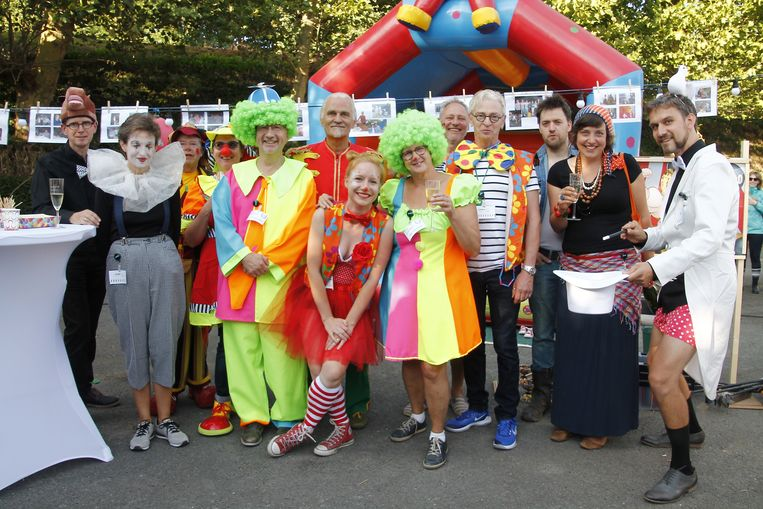 Het thema van dit jaar was circus, wat heel wat clowns opleverde.
