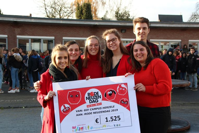 De actie bracht 1.525 euro op.