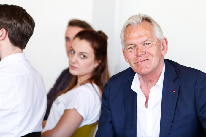Dick Bos van StartUp Nijmegen, broedplaats van startende ondernemers.