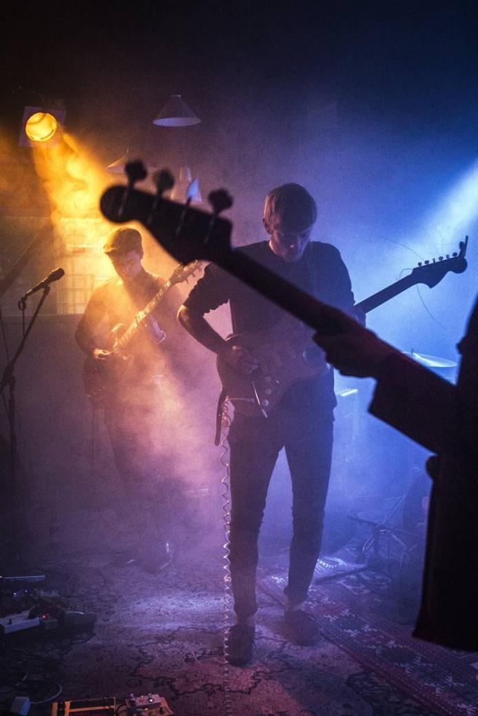 Optreden van de band Passing Goat bij Electron in Breda tijdens het nieuwe festival Overslag. foto Ron magielse/pix4profs