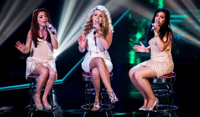 O'G3NE tijdens de finale van The Voice of Holland 2014.