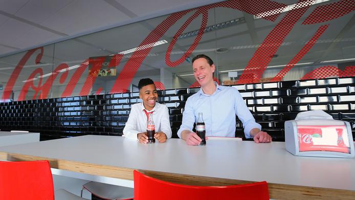 De 13-jarige Gerson mag voor één dag de baas van Coca-Cola zijn