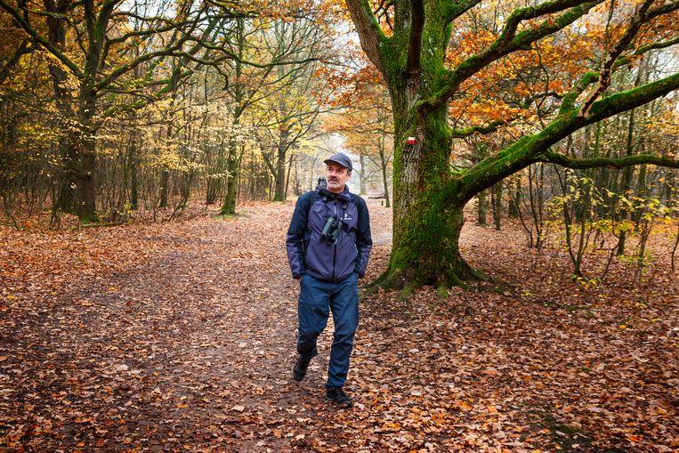 Caspar Janssen aan de wandel in november 2018.  Beeld Pauline Niks