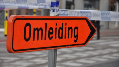 Hinder in Knokkestraat door asfalteringswerken