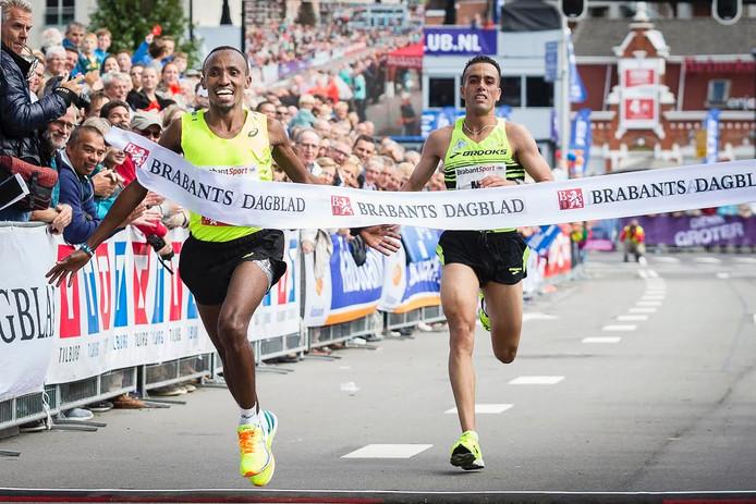 Tilburg Ten Miles, toen het Brabants Dagblad nog sponsor was. In 2016 is dat CZ.