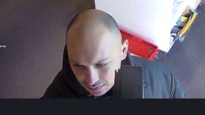 Politie geeft nieuwe foto vrij van man die inbrak bij koffiehuisje en lederwinkel