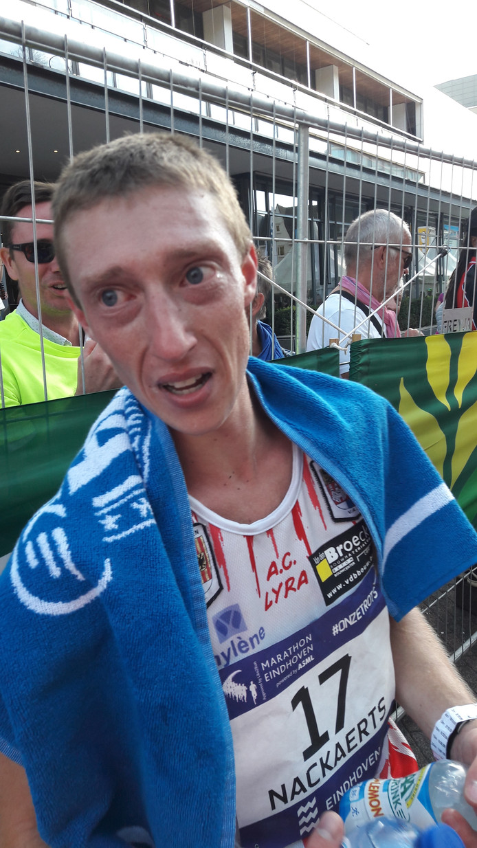 Kristof Nackaert winnaar BK marathon