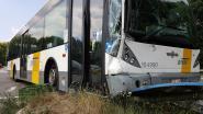 Vijf lichtgewonden bij ongeval met Lijnbus