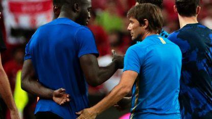 Amper getraind en met het hoofd bij Inter: Man United maakt zich stilaan zorgen om Lukaku