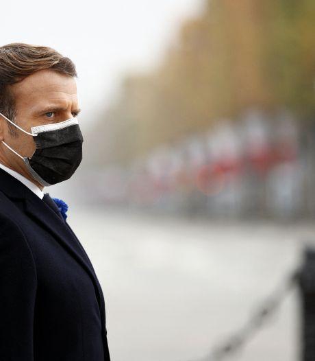"""Pour Macron, la France ne """"va pas changer"""" son droit """"parce qu'il choque ailleurs"""""""