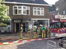 Lichtgewonde bij brand in Veenendaals restaurant