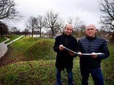 Kanonnen terug op Bastion II in Gorinchem