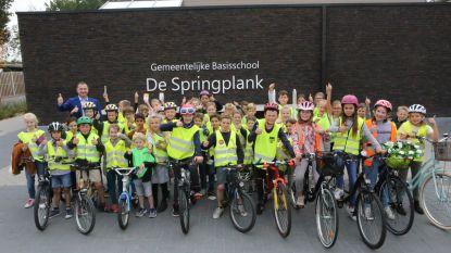 Gemeenteschool Glabbeek start verkeersproject 'Zichtbaar en veilig naar school'
